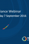NCD Alliance Webinar, 7 September 2016